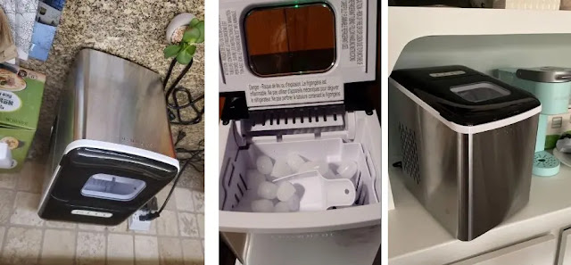 Crownful Portable Ice Maker Machine PROS AND CONS