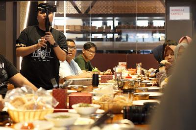 Food Blogger Indonesia siap mengeksplorasi makanan bersama tim Aruna dan Lidahnya