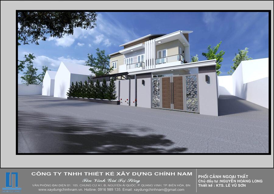 NP01: Mẫu nhà phố 01 Biên Hòa
