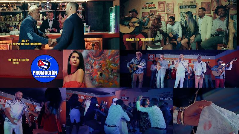 Septeto Santiaguero & JG Juan Guillermo - ¨Dame un traguito¨ - Videoclip - Dir: Reinier Charón. Portal Del Vídeo Clip Cubano. Música cubana. Son. Cuba
