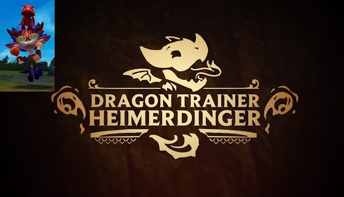 Dragon Trainer Heimerdinger Legendary Skin Trailer - Test Your Wings - League of Legends | LoL