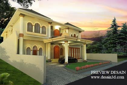Jasa Design Rumah Mewah Clasic Mediteran