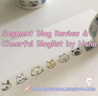 Segmen Blog Review & Cheerful By Hana