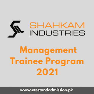 Shahkam Industries Management Trainee Program 2021