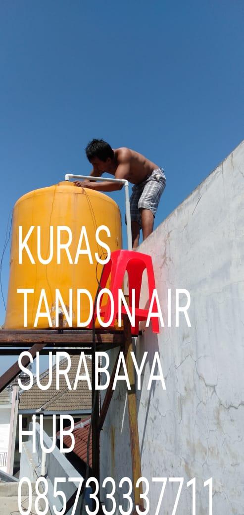 jasa kuras tandon air surabaya 085733337711
