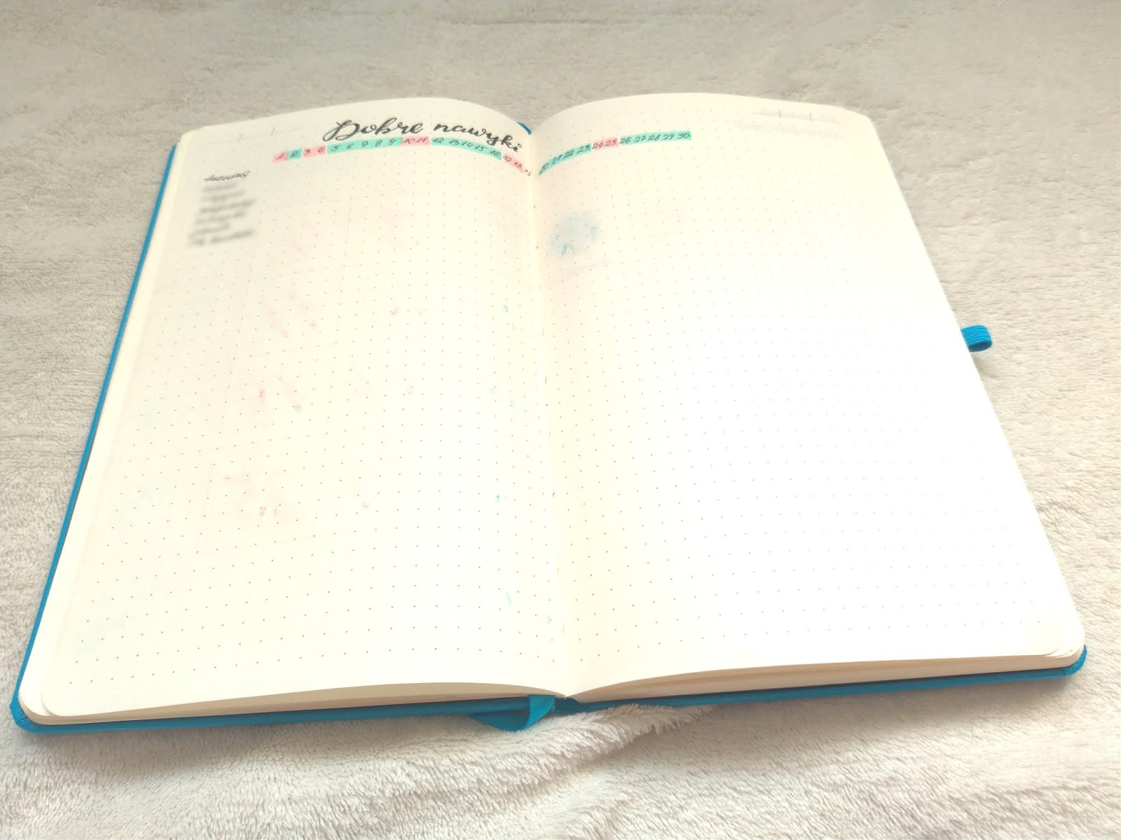 habit tracker w Bullet Journal