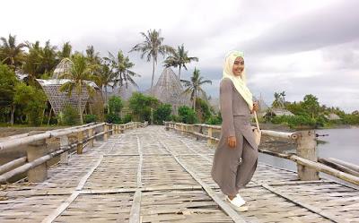 Rute Dan Lokasi Rumah Bambu Pengalon Karangasem Bali