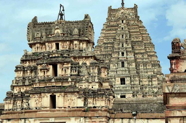 Virupaksha Temple, Hampi - Vijayanagara temples