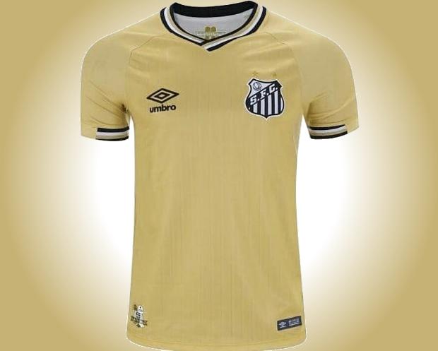 Nova quarta camisa do Santos tem imagem vazada - Show de Camisas 82f10da4c9fce
