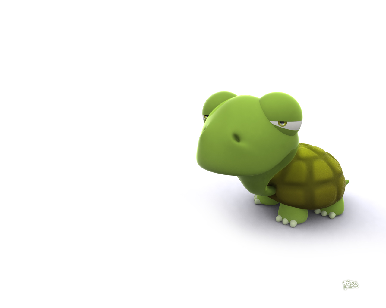 Funny 3d Animal Turtle Wallpapers Hd: IWallpapers: CARTOON 3D WALLPAPERS