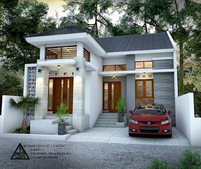 desain rumah minimalis lahan sempit