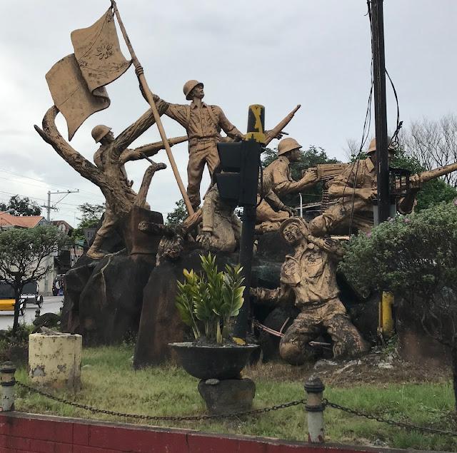 War Statue in Bataan