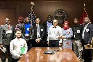"At ""Refugee Day on the HIll,"" members of the Tennessee Immigrant and Refugee Rights Coalition take their stories directly to state legislators."