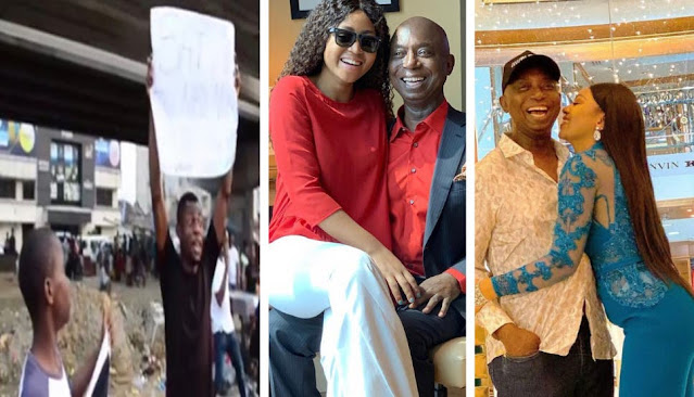 """'Ned Nwoko must not marry another wife """" – Regina Daniels' fans protest"""""""