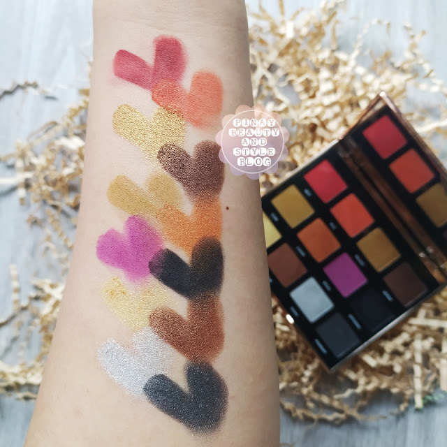 Teviant Queen Eyeshadow Palette Review, Price, and Swatches