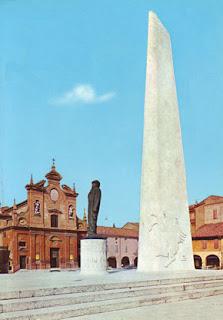 Monumento Baracca e Chiesa del Suffragio