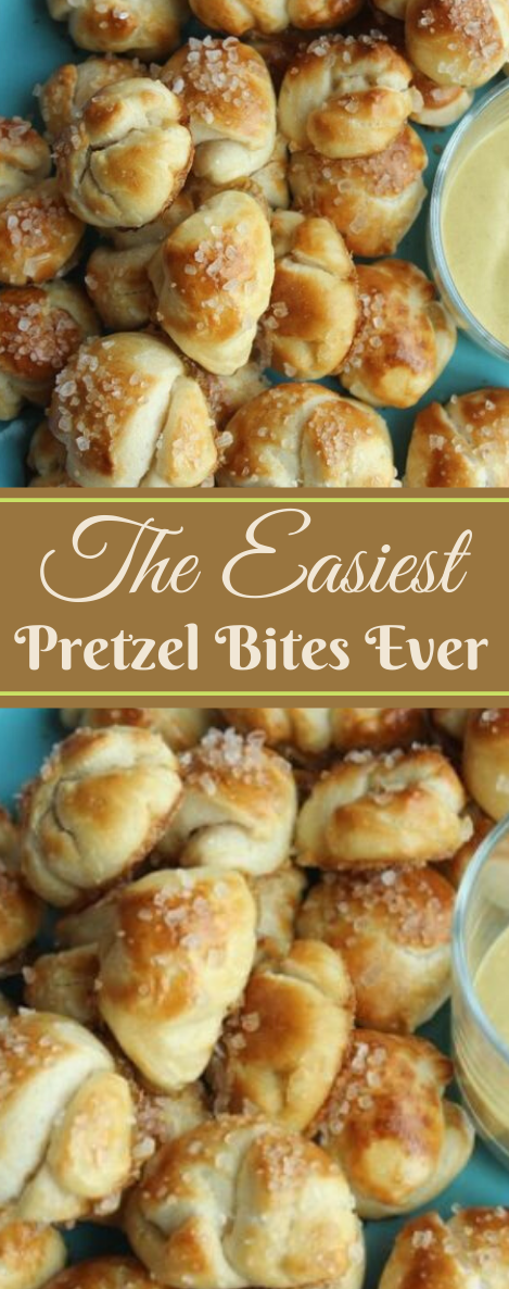 THE EASIEST PRETZEL BITES EVER #healthydiet #party #paleo #snak #food