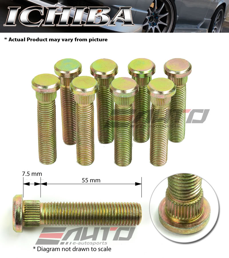 Diy Rear Extended Long Wheel Stud Replacement Toyota Nation Forum Toyota Car And Truck Forums