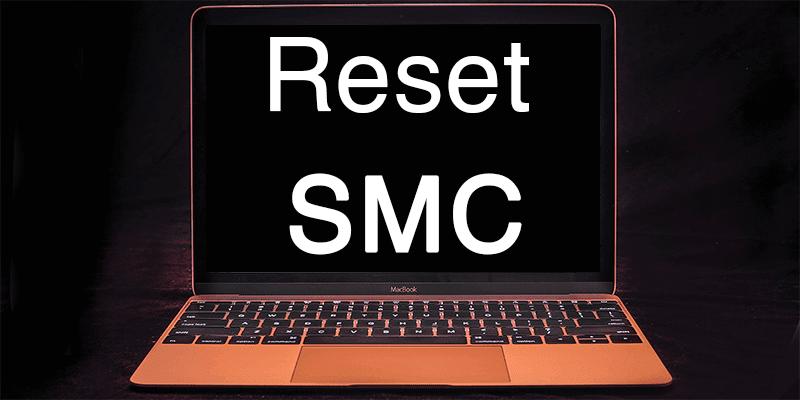 reset smc on mac