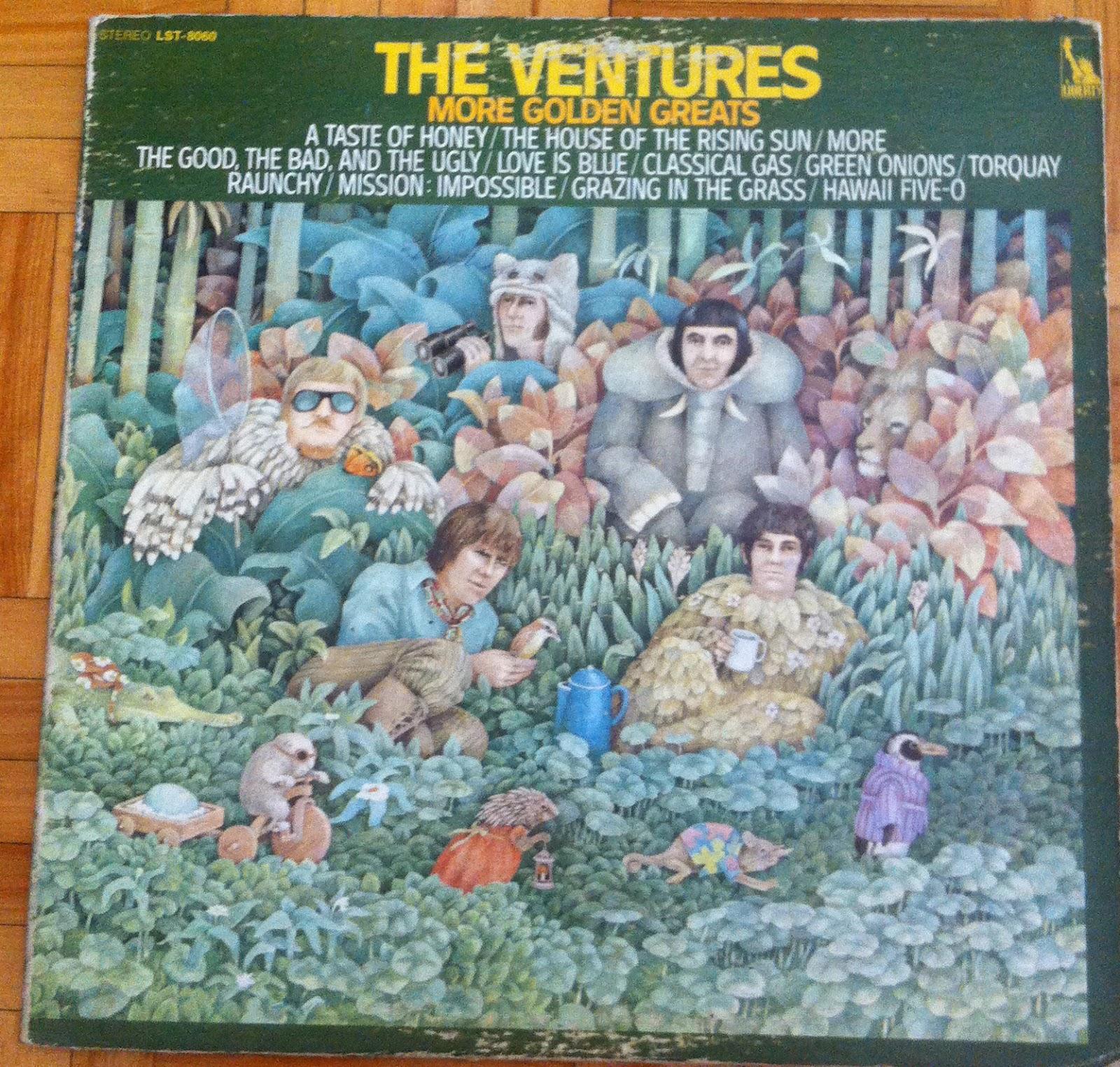 Art Of Makenoize The Ventures Vinyls Lp