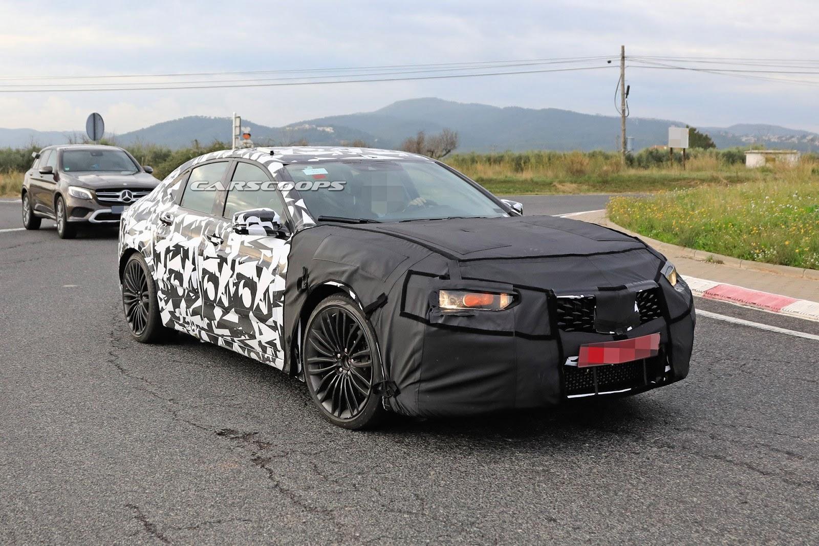 2020 Acura Tlx Type S Spy Shot Ms Blog