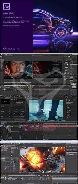 تحميل افتر افكت - Adobe After Effects 2020 أخر إصدار نسخة مفعلة