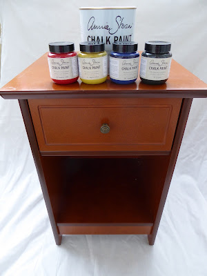Annie Sloan chalk paint nightstand