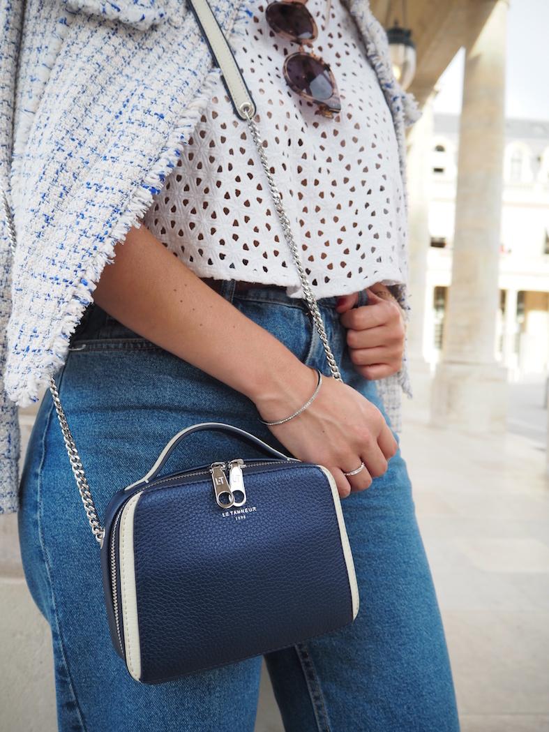 sac bleu Le Tanneur