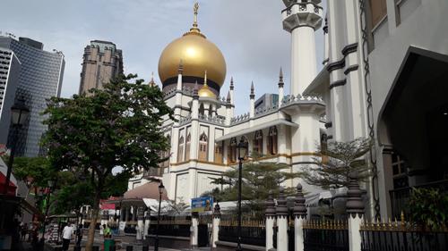 masjid sultan dekat aliwal park hotel