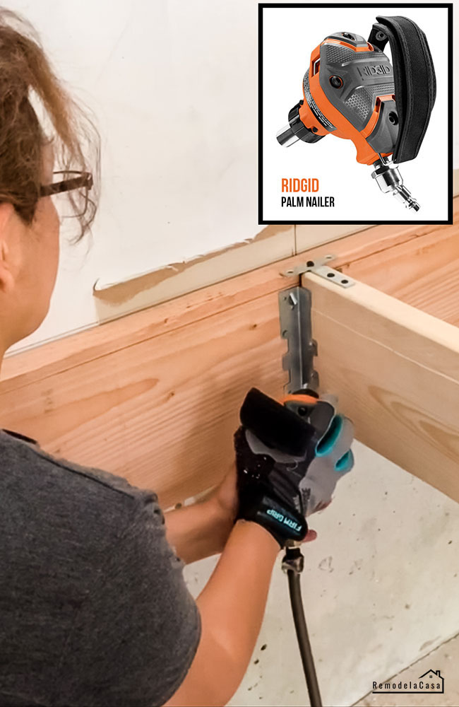 how to build a garage platform