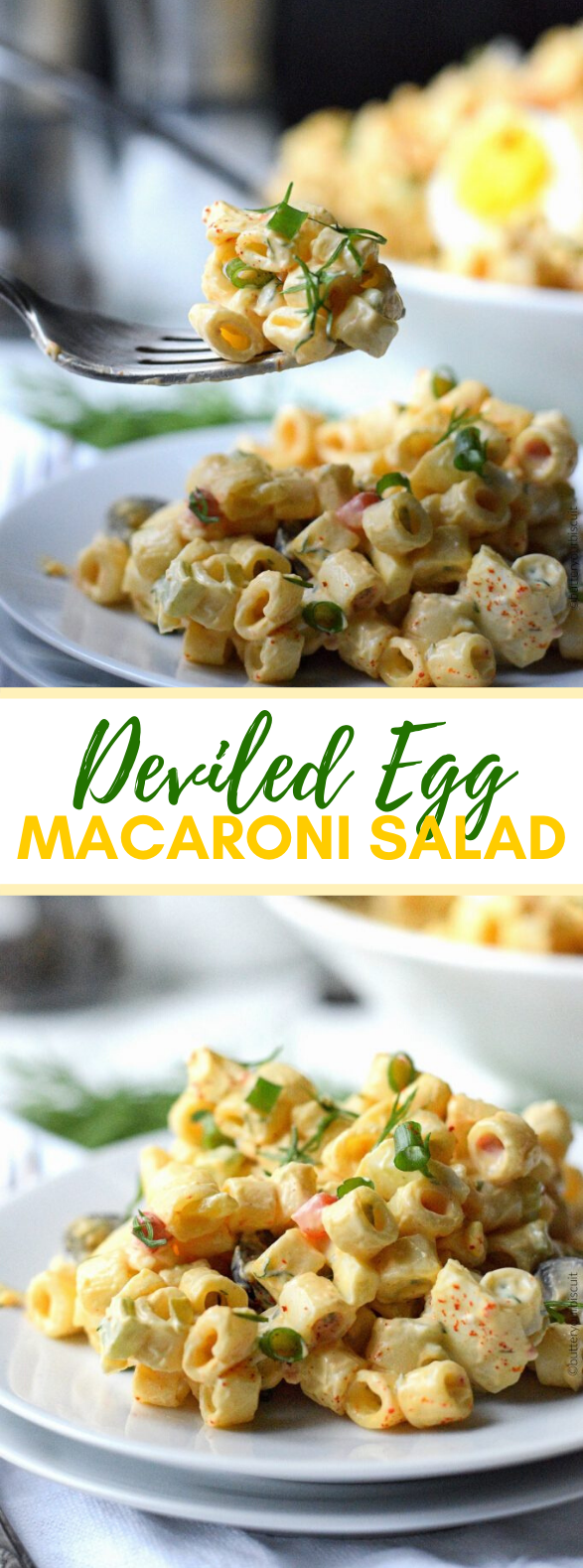 DEVILED EGG MACARONI SALAD #meals #dinner