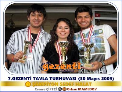 7.Gezenti Tavla Turnuvası
