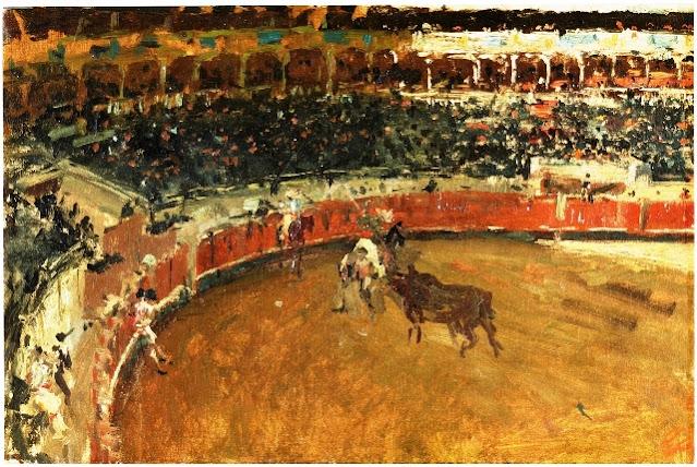 Mariano Fortuny (1838-1874): Corrida de toros (Museo del Prado)