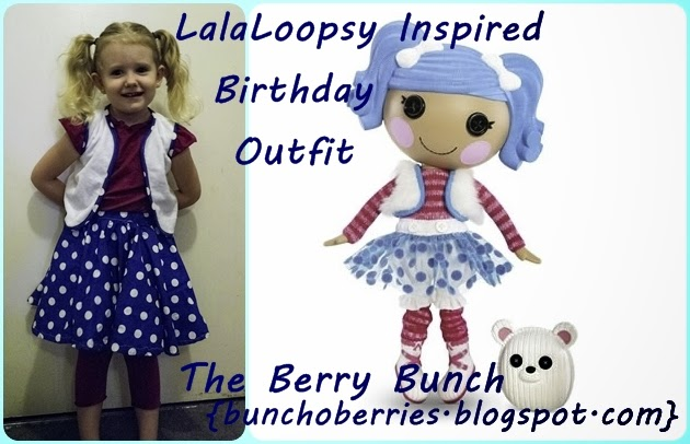 The Berry Bunch: Lalaloopsy Mittens Fluff and Stuff: A Birthday Girl's Outfit