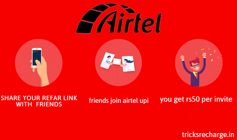 Airtel Refer and Earns: Get Rs 50 Per Referral on AirtelThanks App