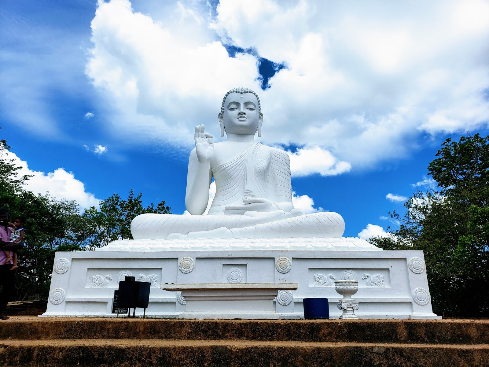 Beautiful Statue of Lord Buddha at Mihintale