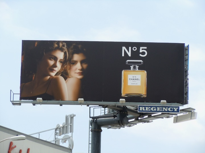 Audrey Tautou Chanel No 5 billboard