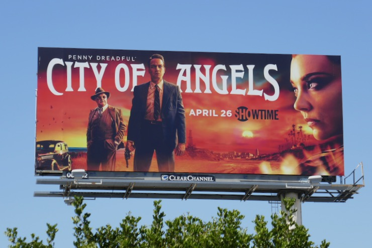 City of Angels series premiere billboard