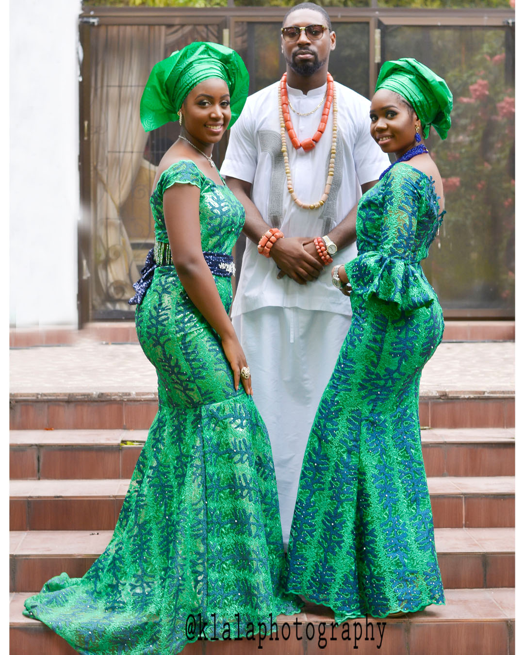 Royal wedding Culture mix as Igbinedion\'s daughter marries Kuteyi\'s ...