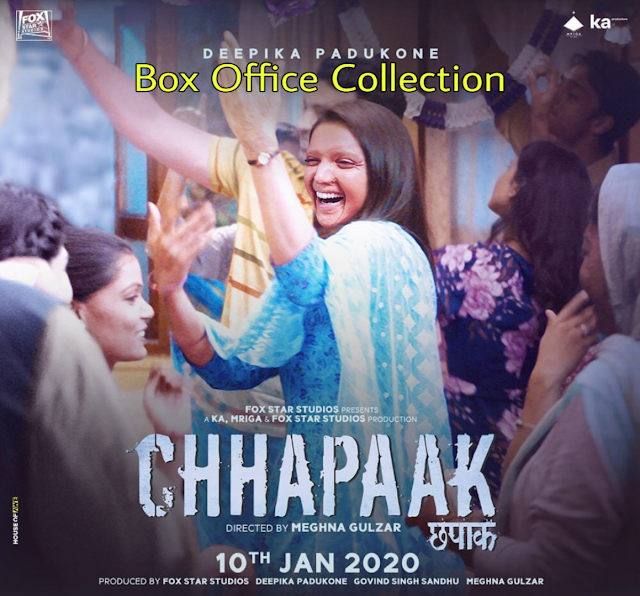 Chhapaak Box Office Collection, Reports
