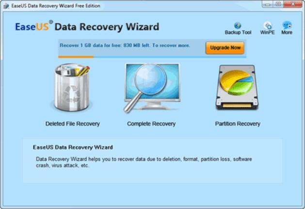 EaseUS Data Recovery Wizard gratis 13