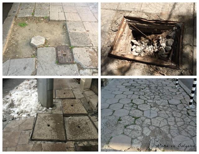 aceras Sofía Bulgaria calle