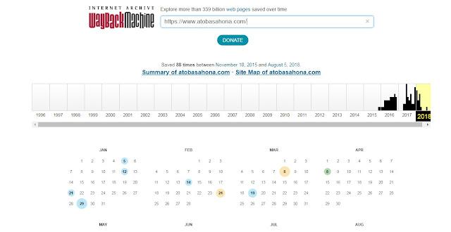 Cara Melihat Tampilan Blog pada Hari, Bulan dan Tahun di Masa Lalu