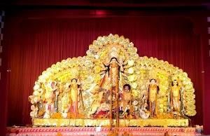 दिल्ली के दुर्गा पूजा पंडाल (तस्वीरें)
