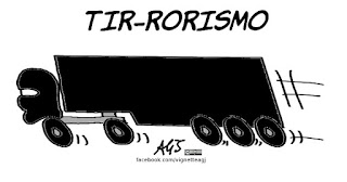 terrorismo, isis, nizza, francia, vignetta, satira
