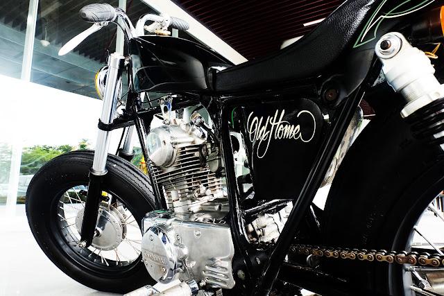 Kawasaki Binter KZ200 Bobber 4