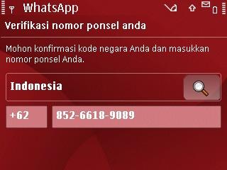 Cara install whatsapp nokia