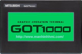 Phân phối màn hình cảm ứng HMI Mitsubishi GT1000 series, màn hình cảm ứng 3.7 inch GT1020 Mitshubishi giá tốt nhất. Sửa chữa bảo hành màn hình cảm ứng HMI Mitsubishi
