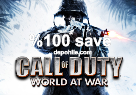Call of Duty World at War %100 Save Dosyası İndir Bitirme Hilesi