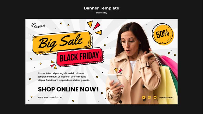Banner Template Black Friday Sale